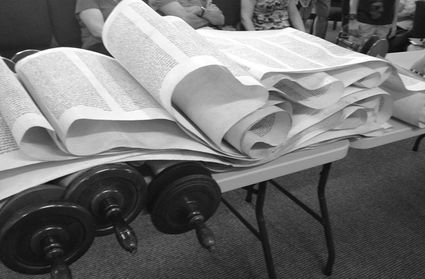 Congregation Sinai Of Minneola Is Embarking On A Torah Restoration Project And Will Also Be Fulfilling Mitzvah 613 As Written In Deut3119 The